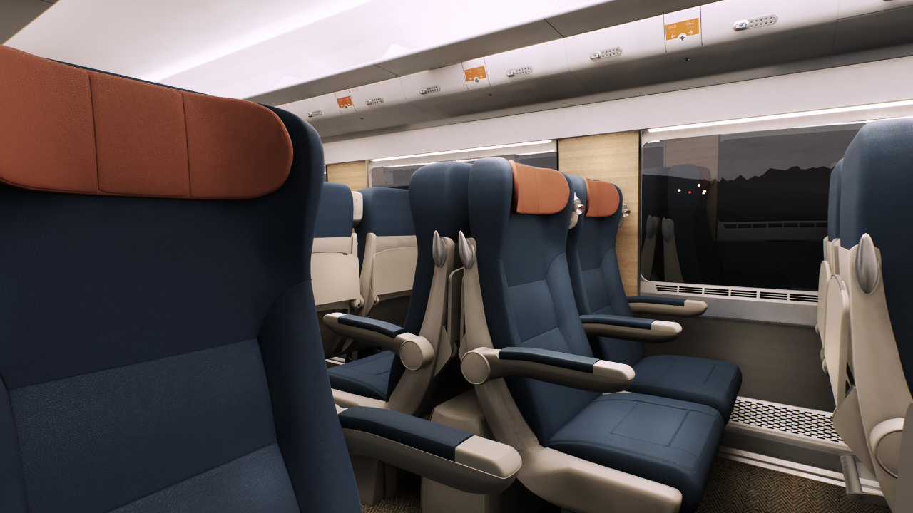 150m Caledonian sleeper trains unveiled to passengers for the first