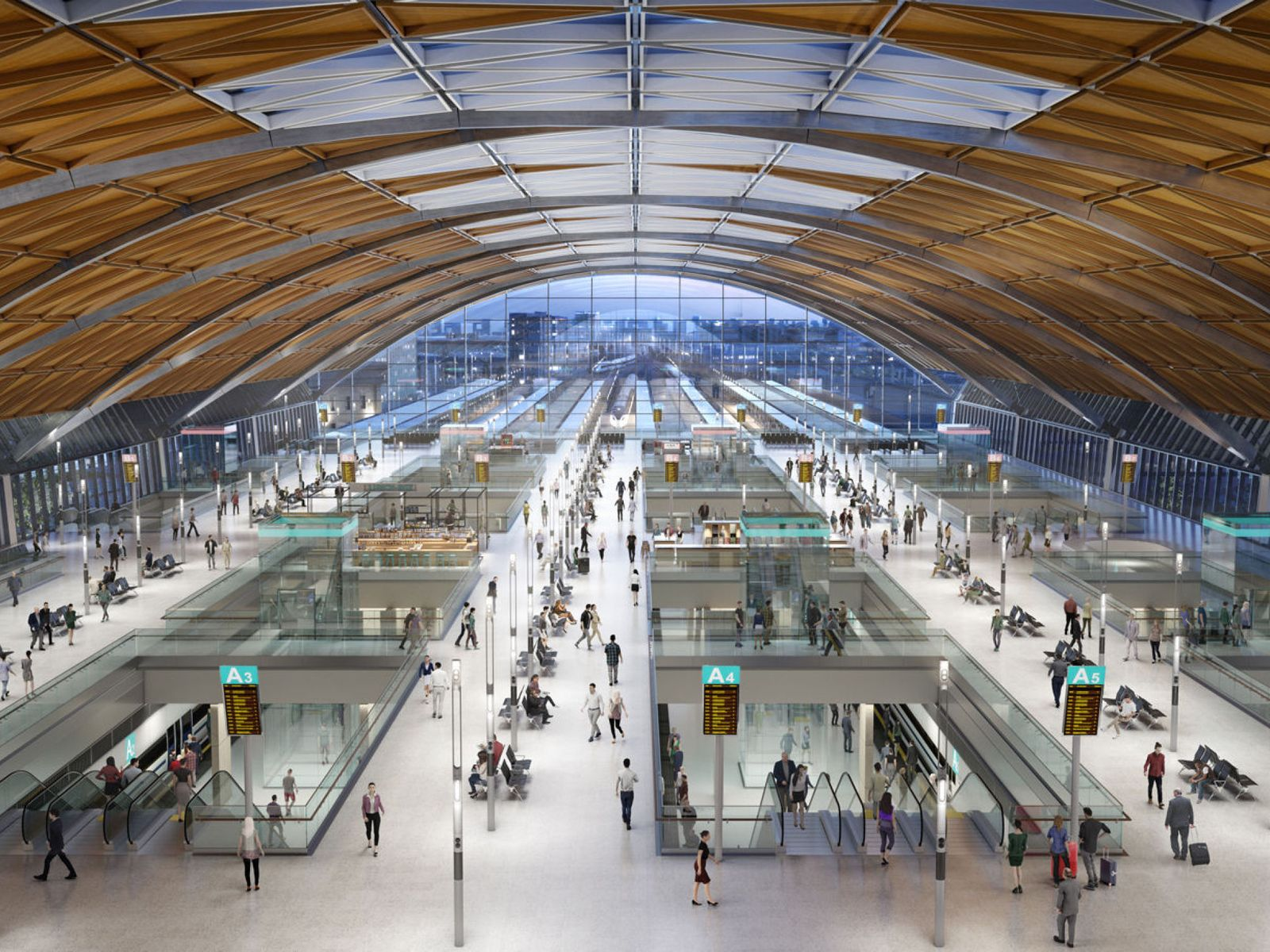Station Designs For New Hs2 Stations Are Revealed