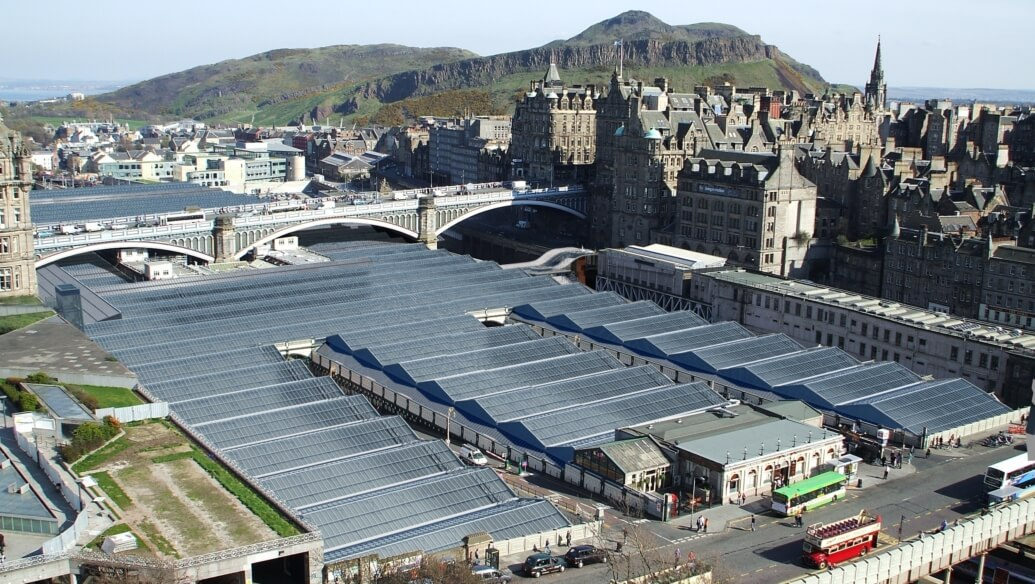 Arup Led Teams To Forge Transformation Of Edinburgh