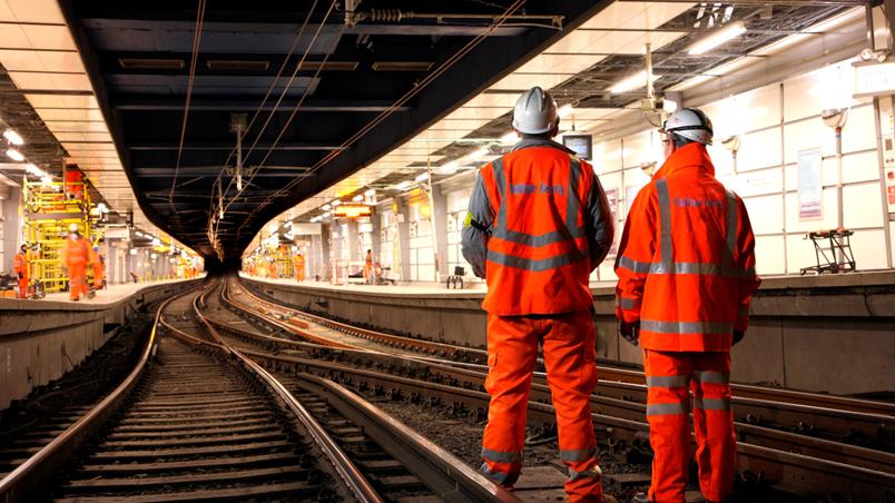 Slump In Rail Work Blamed For First Infrastructure Decline