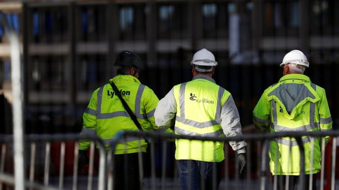 Scottish jobs axed at Carillion after firm's collapse
