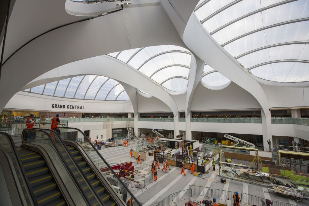 Network Rail contractors put finishing touches to BNS concourse