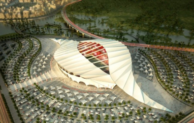 The 45,000 seat Al Khor stadium in Qatar