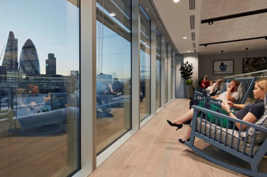AECOM London office gets gold standard for wellbeing and