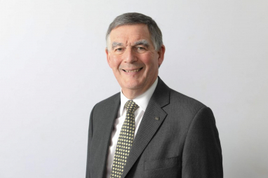 HS2 chairman Allan Cook, who will leave his role at the end of July 2020.