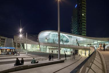 Arnhem Central Station, an Arup project. Photo: Ronald Tilleman.