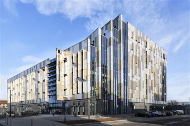 The Atkins-designed Bournemouth Gateway Building, the new home for Bournemouth University's Faculty of Health and Social Sciences, has opened.
