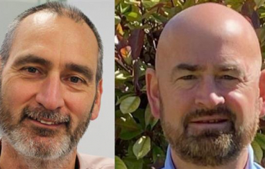 All change at BAM Nuttall, as outgoing CEO Stephen Fox (left) is replaced by new chief executive Adrian Savory (right).