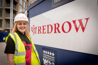 Bailey Holland-Knightly, Redrow painter & decorator.