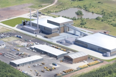 The proposed plant at Bilsthorpe.