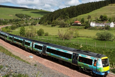 Borders Railways reopens