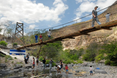 Through Bridges to Prosperity, engineering professionals and students have volunteered in the construction of over 200 bridges in 20 countries.