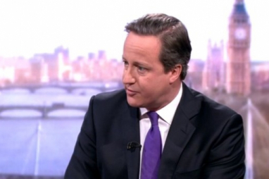 David Cameron was on BBC's Andrew Marr Show on Sunday