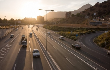 One of Chile's public-private partnerships, the Costanera Norte, which includes a dual three-lane highway as well as two tunnels, six new bridges and 30.4km of urban highway.