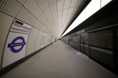 Construction complete as Crossrail hands Whitechapel station to TfL.