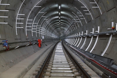 No light at the end of the tunnel yet for the troubled Crossrail project.