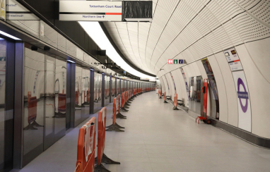 Tottenham Court Road Elizabeth line station enters final commissioning phase.