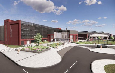 Plans approved for Darlington railway station's £105m transformation.