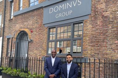 Dominvs directors Wesley-Ankrah (left) and Jay-Ahluwalia.