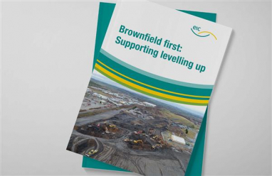 Major new EIC report calls for greenfield surcharge to encourage brownfield development.