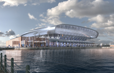 Everton's proposed new 52,000 capacity stadium is set to kick-start regeneration of Liverpool's north docklands, contributing a £1bn boost to the city region's economy.