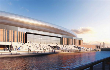 Mott MacDonald helps secure planning permission for new 52,888 capacity Everton stadium.