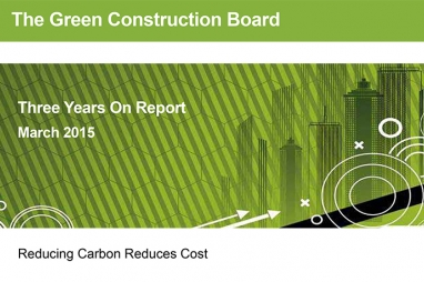 Green Construction Board Three Years On
