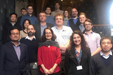 The Energy & Sustainability Research Group last year, with professor Gioia Falcone, front second from right. Credit: University of Glasgow.