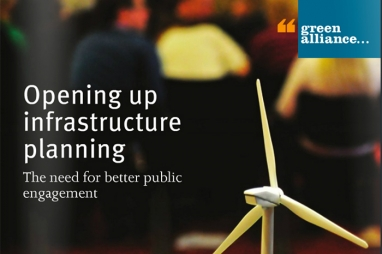 Opening up Infrastructure Planning