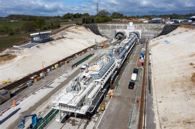 HS2 has launched Florence, the first of its ten enormous tunnel boring machines that will dig 64 miles of tunnel on Phase One of the UK's new high speed railway.