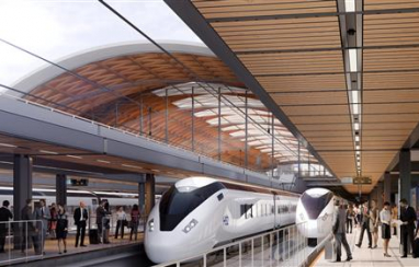 The search for contractors to design, deliver and maintain lifts and escalators for HS2's four major new stations is now underway.