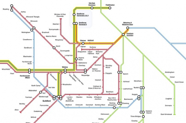 New proposed map for Heathrow rail network identifies stations that on