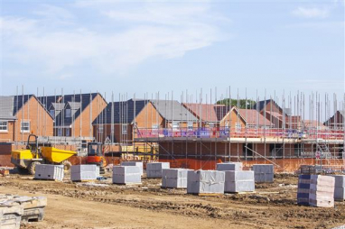 Government sets out plan to re-start housing market and get construction working again.