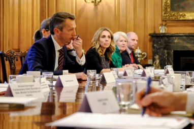Inaugural Industrial Strategy Council meeting