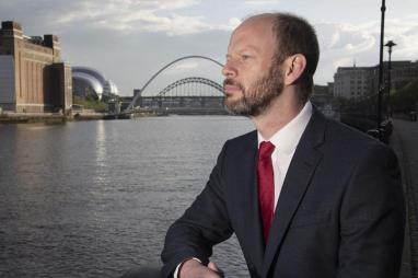 North of Tyne mayor Jamie Driscoll.