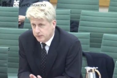 Transport minister Jo Johnson.