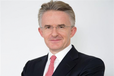 Former HSBC CEO John Flint, pictured, has been appointed as first permanent chief executive of the UK Infrastructure Bank.
