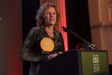 European CEO Award winner, Karin Sluis of Witteveen+BOS.