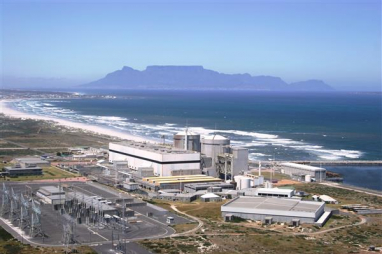 Koeberg nuclear power plant in South Africa. Image courtesy of ESKOM.