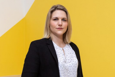 Laura Collins. RICS Matrics 'UK Young Surveyor of the Year' 2018.