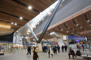 London Bridge station, shortlisted for the RIBA Stirling Prize 2019.
