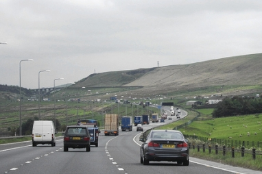 M62 Pennine section