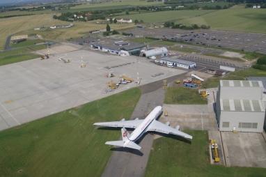 Manston Airport before closure.