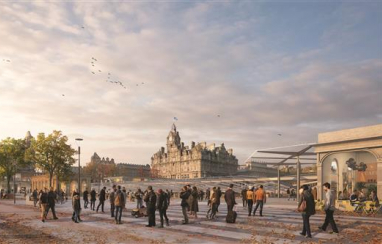 Concept designs for transforming Edinburgh Waverley station have been revealed.
