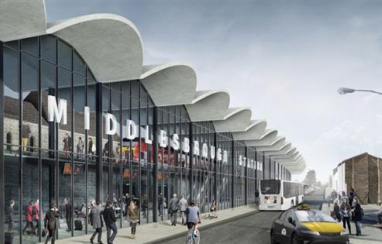 Darlington, Middlesbrough and Horden stations are set to benefit from £15m government investment.