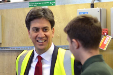 Ed Miliband launches Labour's business manifesto