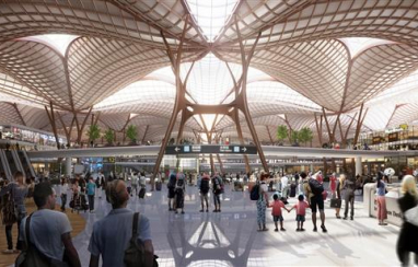 Grimshaw-Mott MacDonald design consortium win international competition for Shenzhen Airport East Integrated Transport Hub.