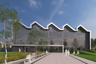 The National College of High Speed Rail, Doncaster. Due for completion in 2017/18.