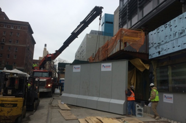 First self-activating flood barrier installed in New York