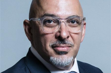 Nadhim Zahawi, newly appointed construction minister.